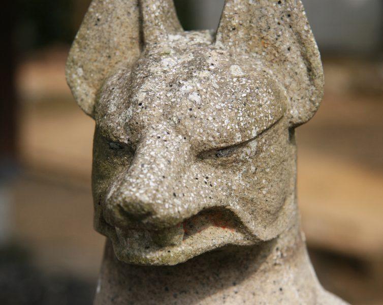 キツネの狛犬