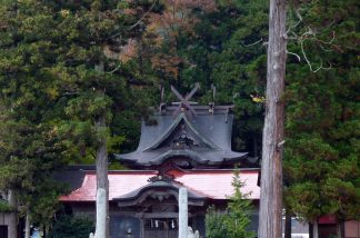 山村の神社