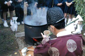 赤米の神饌