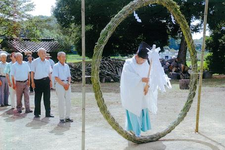 写真:夏越の大祓祭