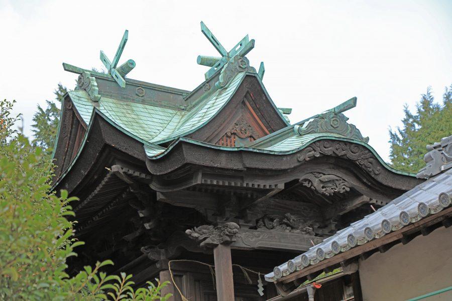 神前神社本殿