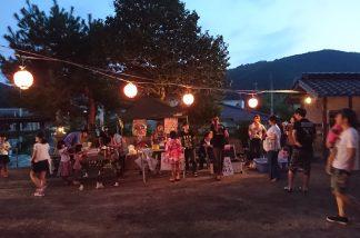 吉ヶ原八幡神社の夏祭り