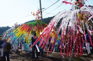 八幡神社花祭り1