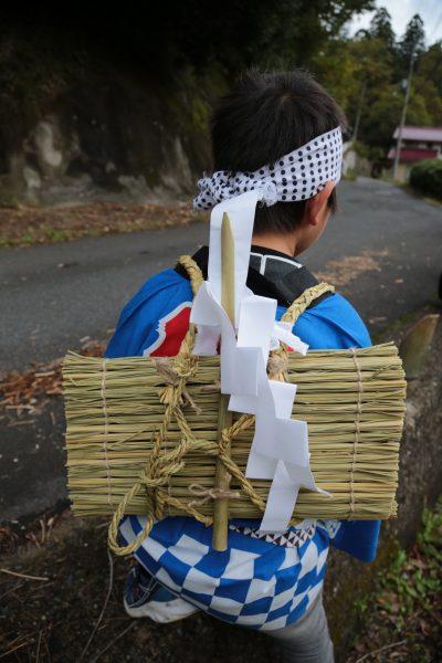 梶並神社当人祭7