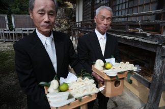 志呂神社御供4