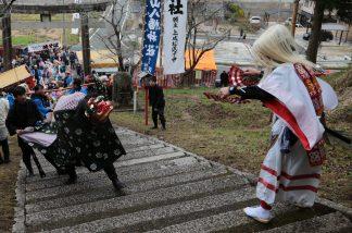 八幡神社渡り拍子3
