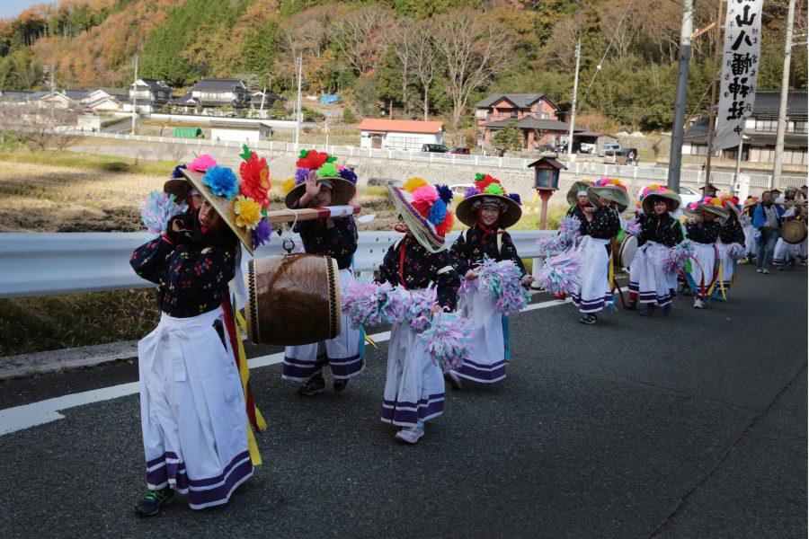 八幡神社渡り拍子2