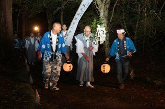 梶並神社当人祭4