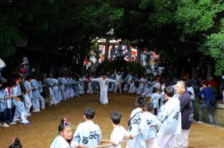 鴻八幡宮秋祭1