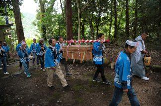 梶並神社当人祭1