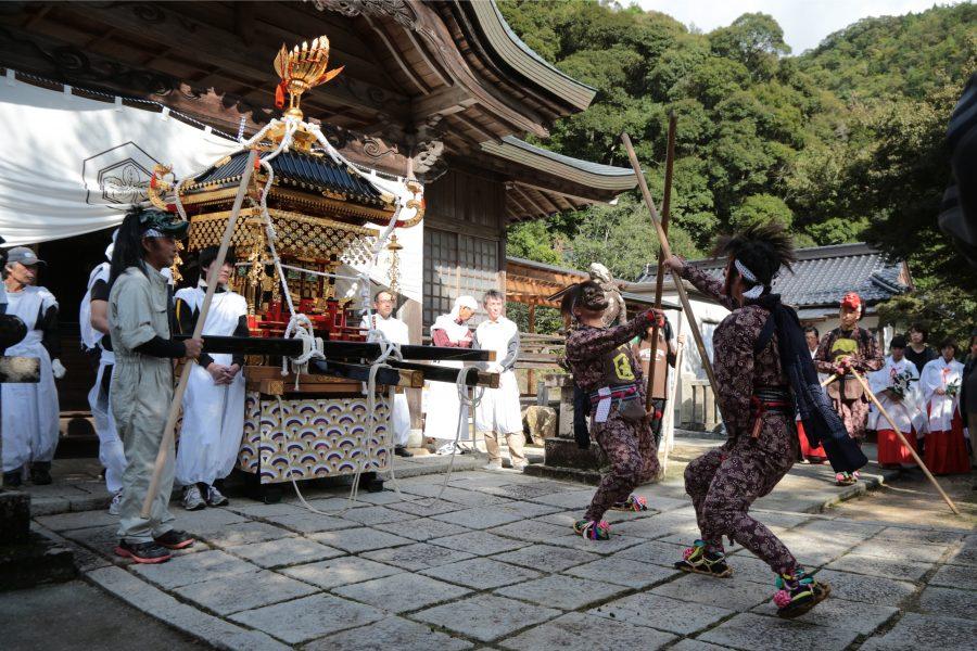 志呂神社秋祭1