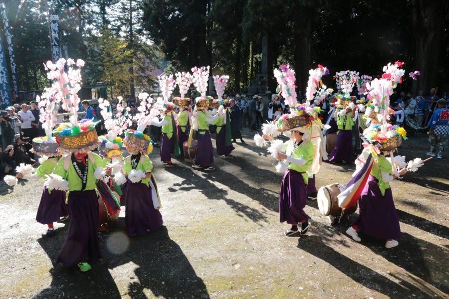 鋤崎八幡神社渡り拍子4