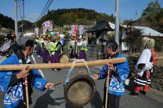 鋤崎八幡神社渡り拍子9