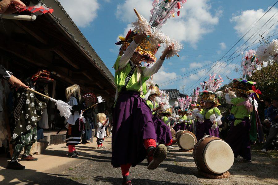 鋤崎八幡神社渡り拍子2