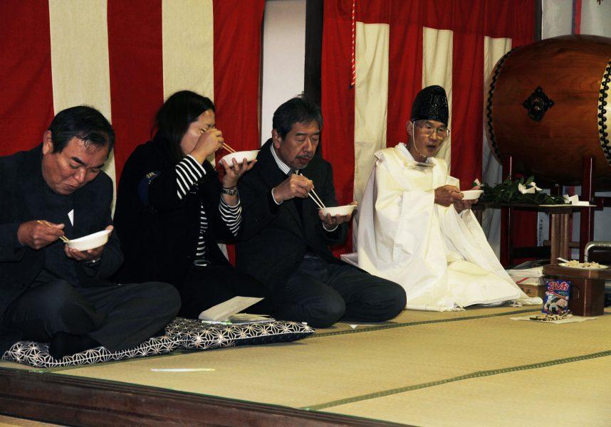 春日神社筒粥神事7