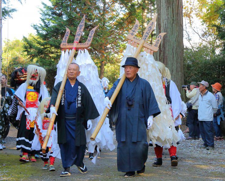 鋤崎八幡神社渡り拍子1