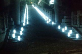 羽黒神社 宵灯り