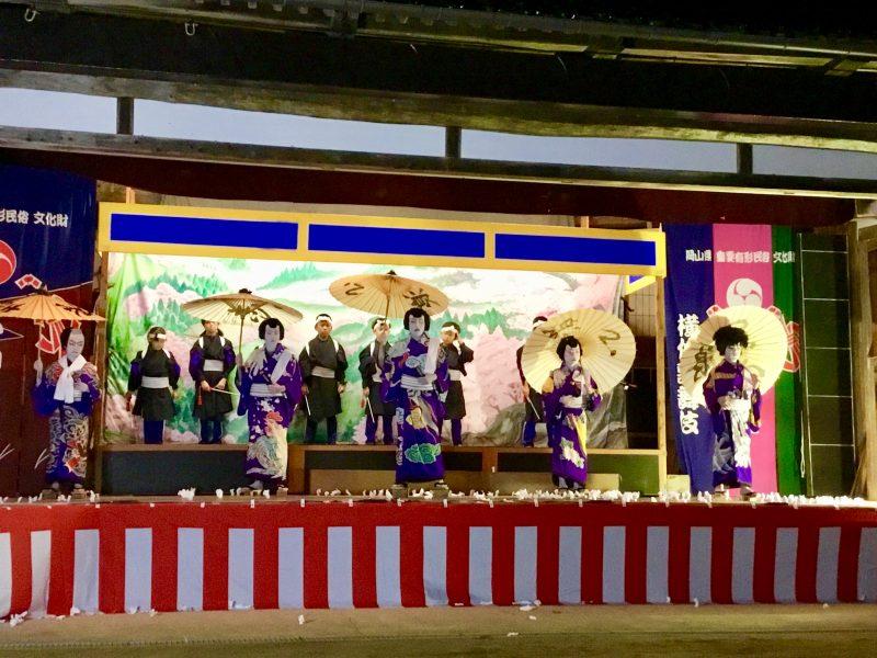 可愛いお子様方の横仙歌舞伎